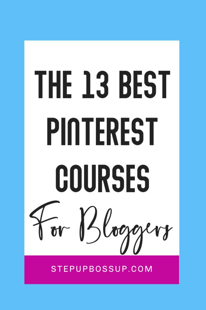 pinterest courses