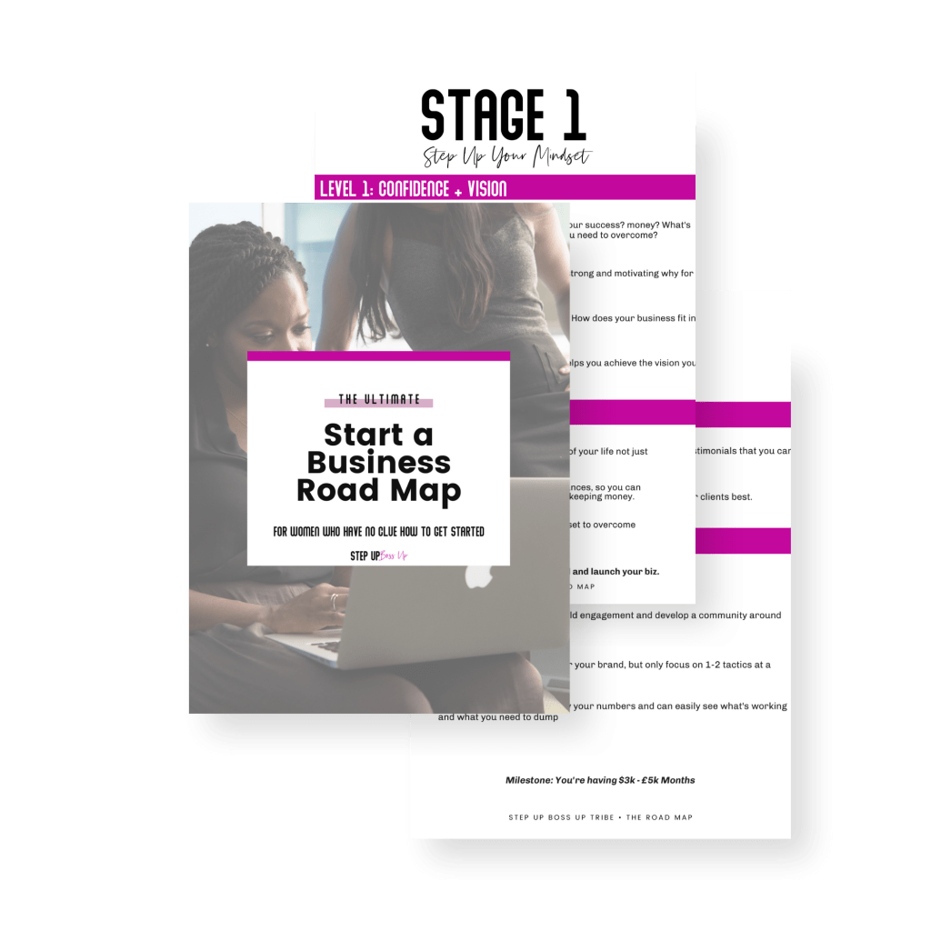 start a business road map