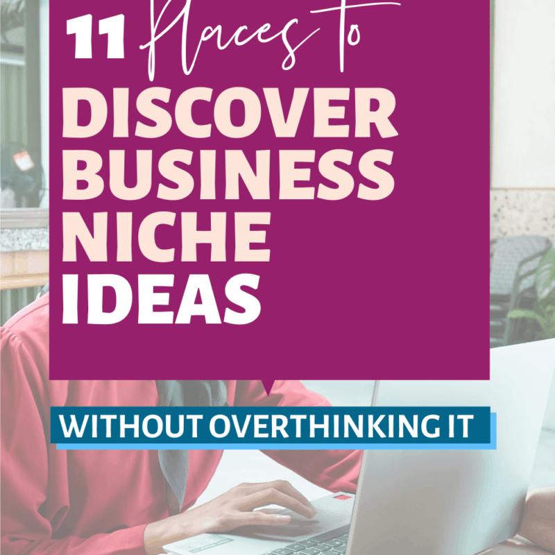 business niche ideas