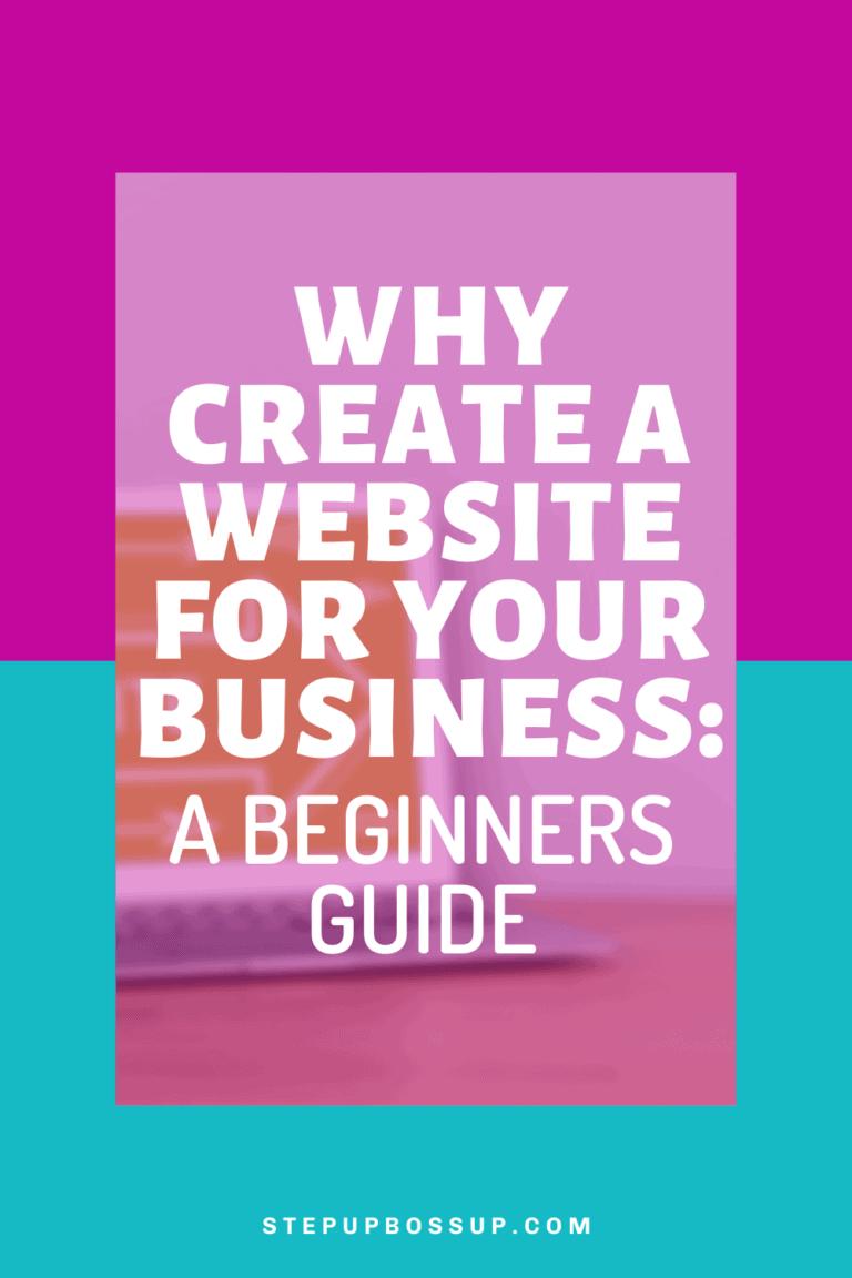 Why Create a Website