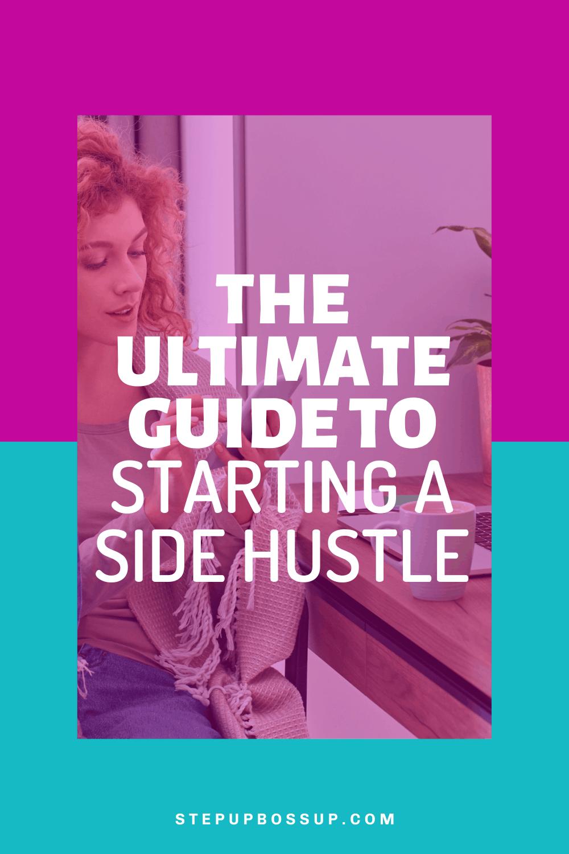 starting a side hustle